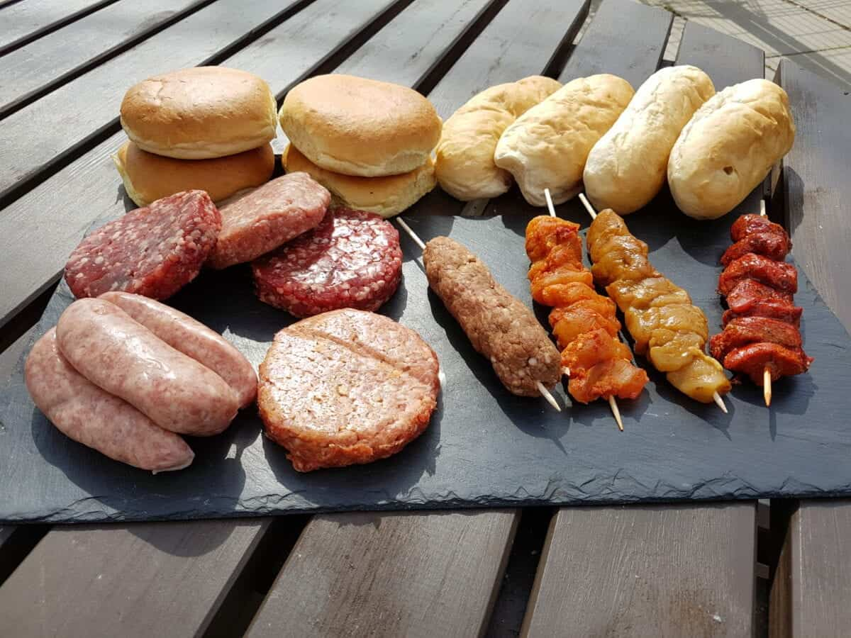 barbecue, BBQ, big on bbq, summer, burger, kebab, sausages,