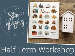 half term workshop starglazing