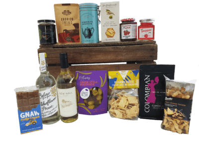 Suffolk Food Hall lavish hamper, hamper