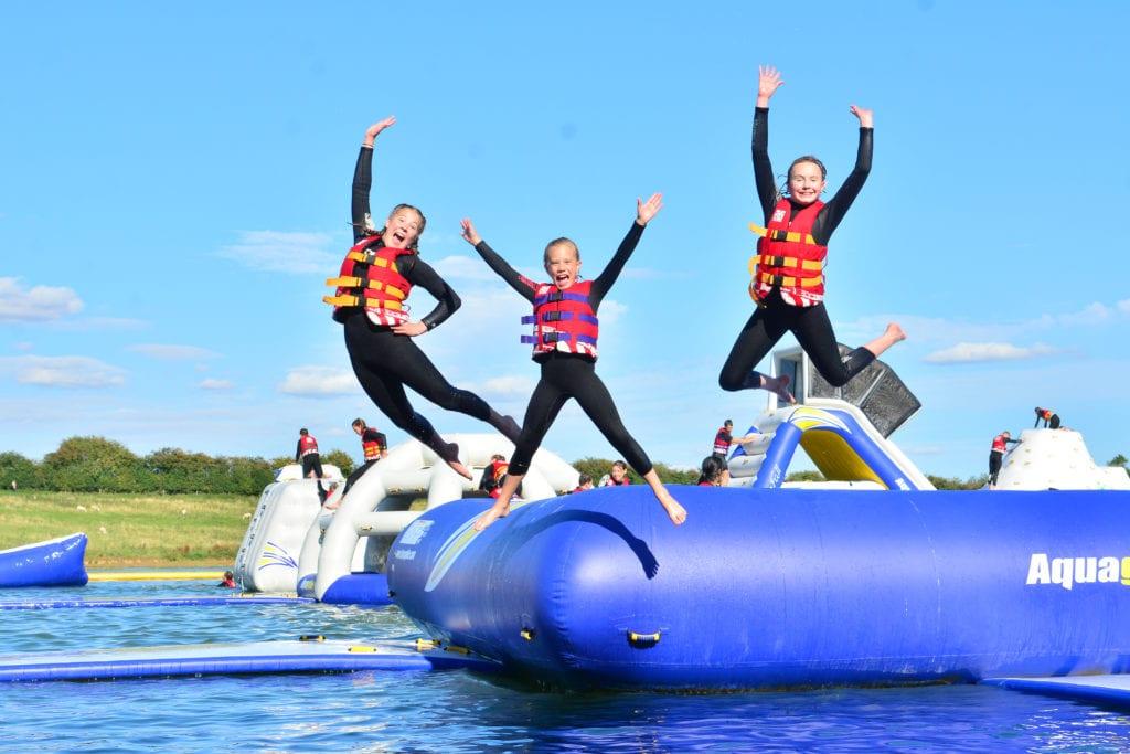 Aqua park, Suffolk, inflatables, blog